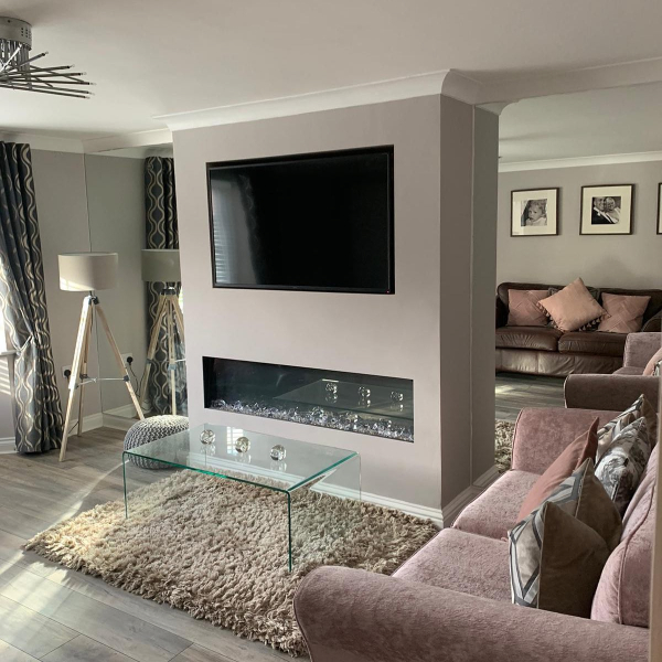 Media wall installed by KA Davies Electrical